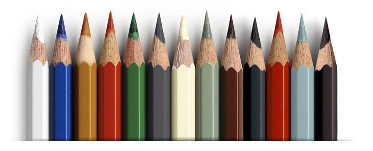 composite-door-colour-pencils